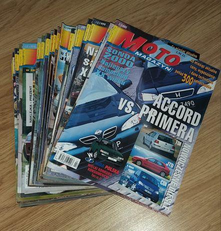 Moto magazyn 24 numery 1997 r 1998 r 1999 r 2000 r gazety kolekcja