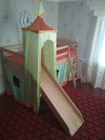 Кровать - замок