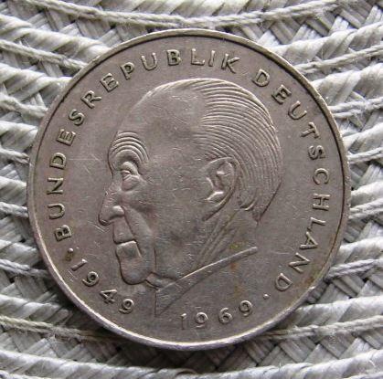 Niemcy 2 Marki 1981r Konrad Adenaur