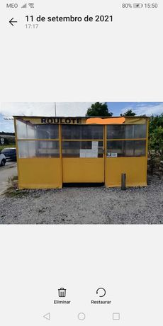Bar ambulante para venda