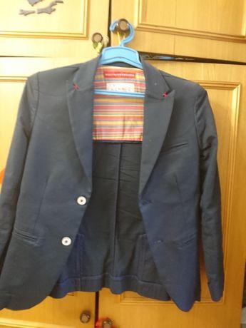 Пиджак стильный  на мальчика 10-12 лет