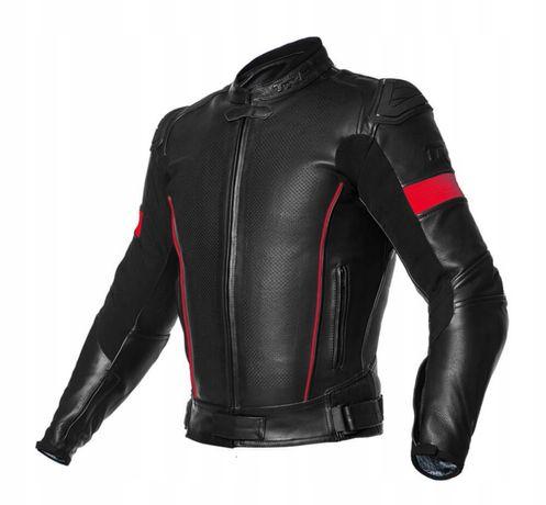 Skórzana kurtka TRP SWIFT miękka lekka wytrzymała protektory lev2