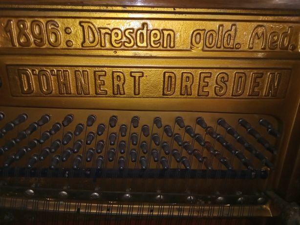 Пианино Дрезден 1896г