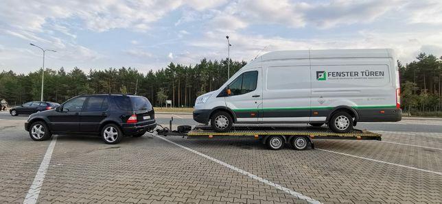 Auto laweta pomoc drogowa 24h holowanie  Zielona Góra Lubuskie