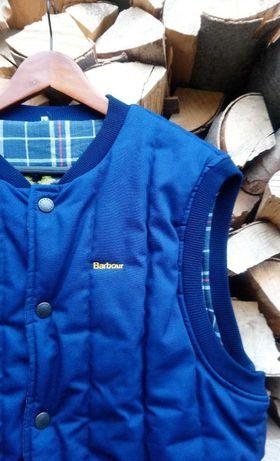 barbour синя жилетка