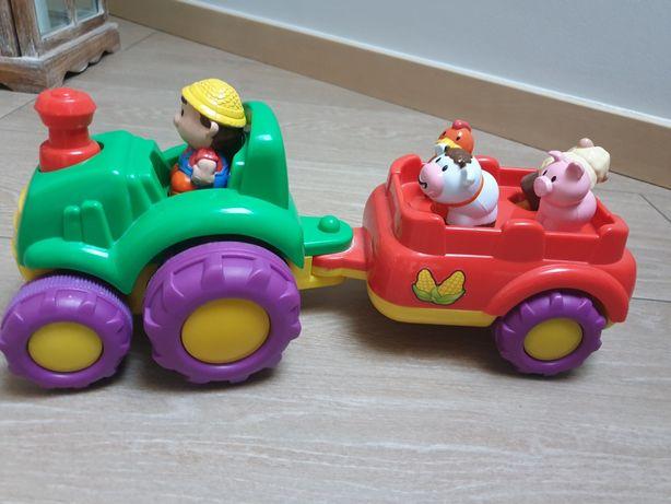 Traktor z zwierzątkami