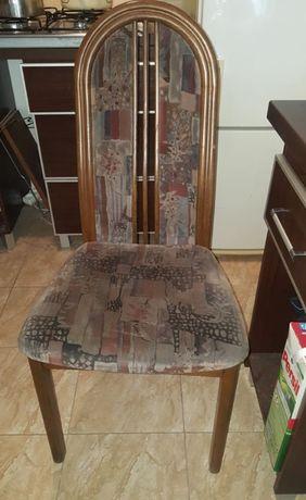 krzesła dębowe 75 zł