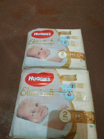 Продам памперсы huggies elite soft