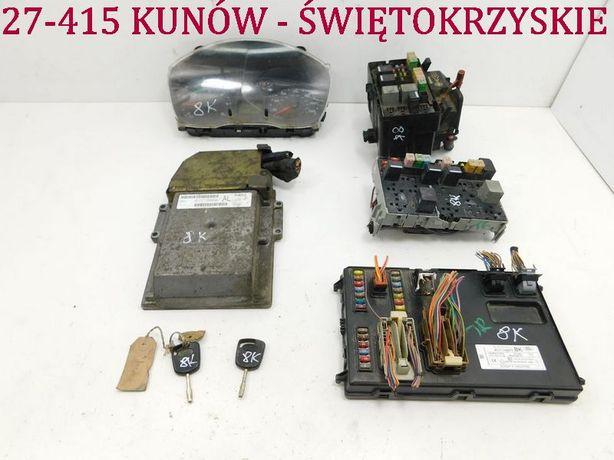 Ford Transit MK7 2.4 TDCI komputer zestaw immo