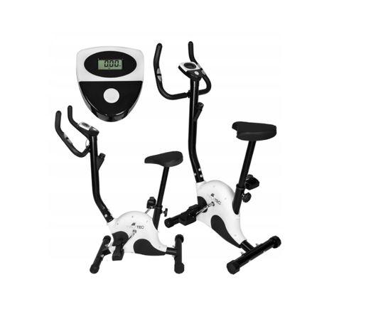 Rower Treningowy Rowerek Stacjonarny z Komputerem + Dodatek