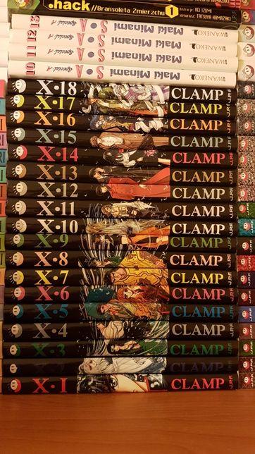 Mangi X clamp 1-18 cała seria