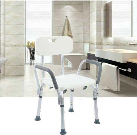 Cadeira para Banho antiderrapante, altura ajustável **envio grátis**