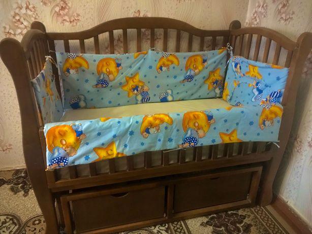 Детская кровать, ручная работа