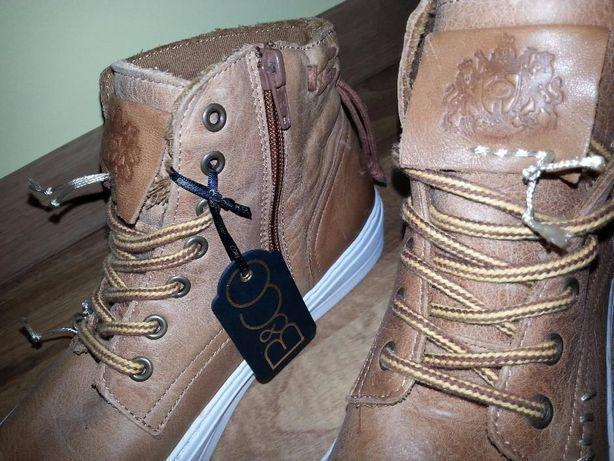 Skórzane buty B&CO NOWE