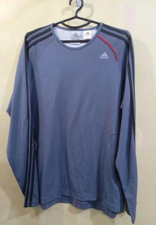 Оригинал как новый лонгслив, футболка Adidas Climalite