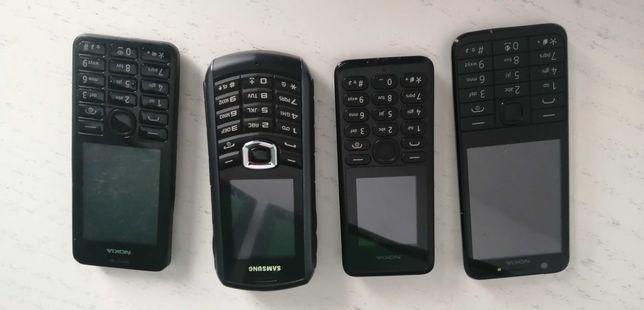 Nokia Samsung Huwaei  telefony komórkowe