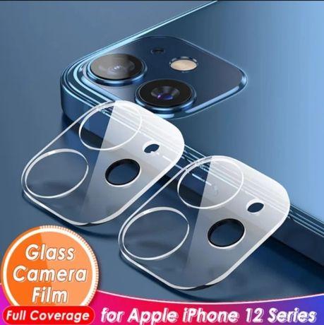 3D защитное стекло на камеру для iPhone 11 12 12 mini 12pro 12 Pro Max