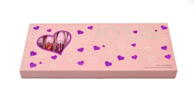 НА ПОДАРОК! Набор матовых помад Kylie Valentine 12 в 1