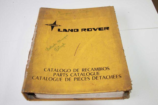Manual Peças Santana Land Rover