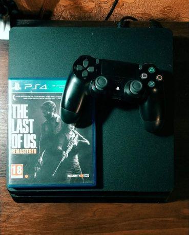 Продана.  Sony PlayStation 4 Ps4 Slim 500Gb + Аккаунт С Играми