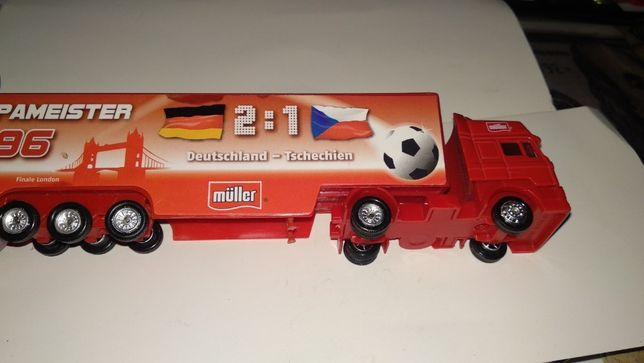 игрушка моделька фура машинка футбол германия чехия 2-1 1996 чемпионат