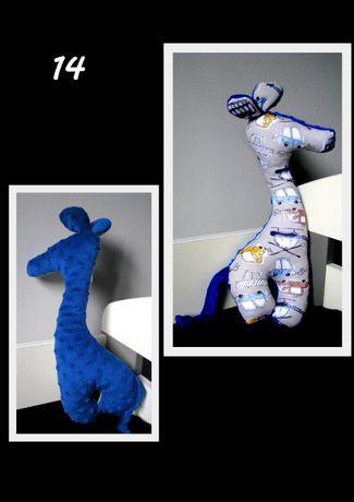 Żyrafa minky handmade do końca listopada wysyłka 1 zł
