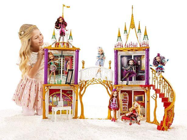 Большой кукольный Замок Школа Mattel Эвер Афтер Хай 2в1