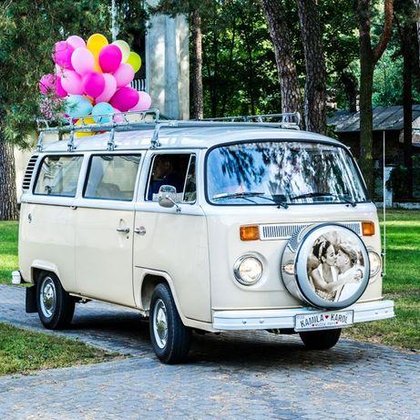 auto samochód wynajm klasyczne zabytkowe do ślubu Vw Ogórek Bulik Samb