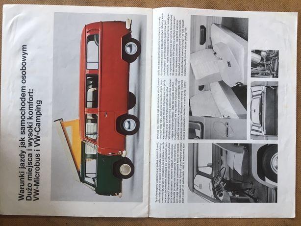 Katalogi Foldery Plakaty Postery 1978 samochody USA i EU