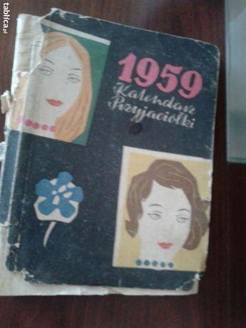 Kalendarz Przyjaciółki z 1959 roku