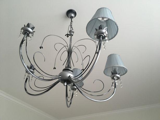 Żyrandol i kinkiet  pokój dziecięcy retro lampa zwis vintage prl