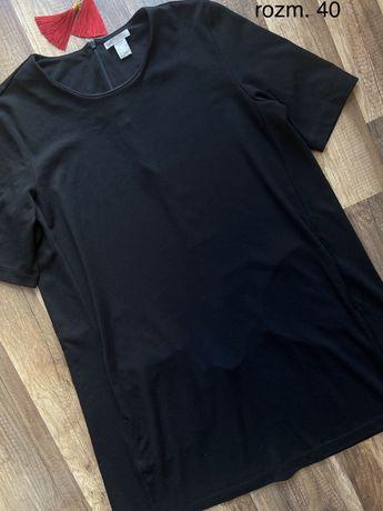 Czarna sukienka H&M w rozm. 40 L