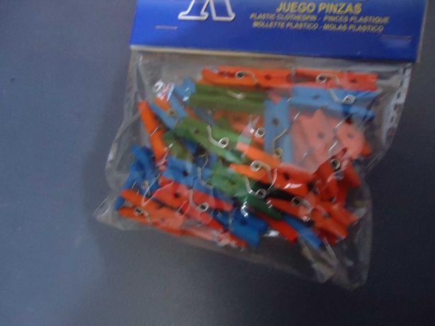 40 Mini molas coloridas