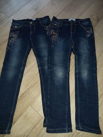 Утепленні джинси для дівчинки.