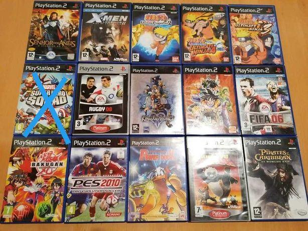 PS2 Jogos desde 2euros até 15euros