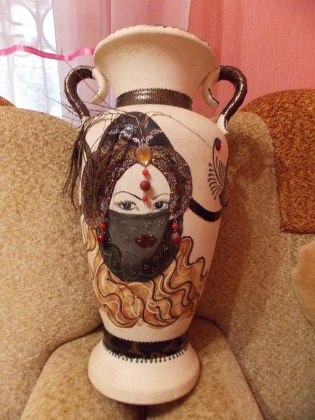 ваза керамика напольная