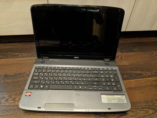 Ноутбук Acer Aspire 5542G, нерабочий, по запчастям или целиком