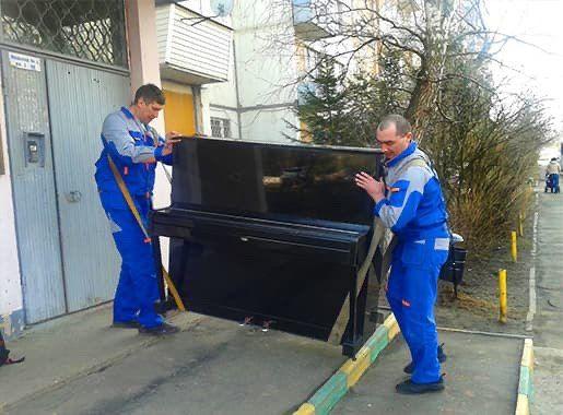 перевозка пианино киев