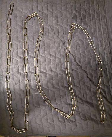 Łańcuch do wieszania wieszaków z odzieżą. Długość 270 cm.