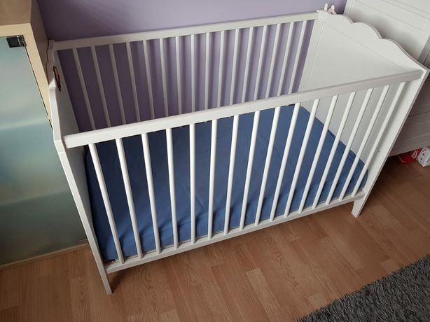 Ikea łóżeczko Hensvik + materac Fiki miki