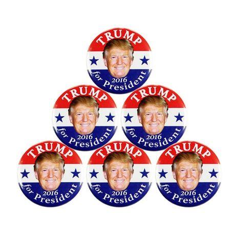Pin original da Campanha eleitoral americana