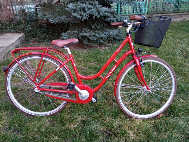 NOWY damski rower Ortler Copenhagen Wave, candy red
