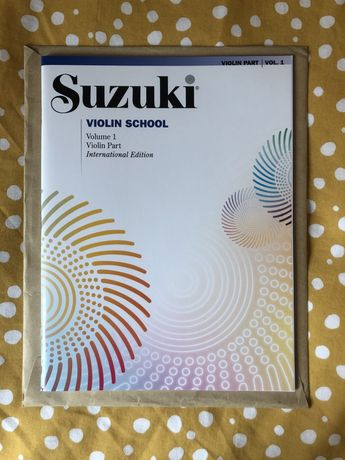 Livro de estudo para Violino Suzuki School volume 1