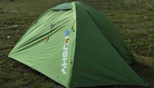 Namiot ultralight Husky BRET Extreme Lite 2 osobowy ultralekki zielony