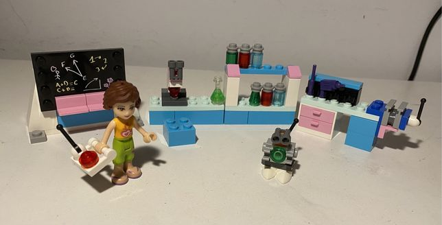 lego friends 3933 laboratorium Olivii + instrukcja