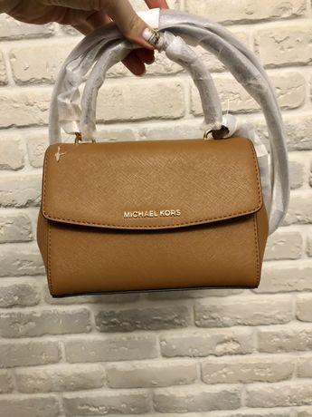 Женская коричневая сумка Michael Kors Оригинал