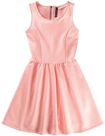 Нежное платье персиковое Платье selena gomez x adidas neo