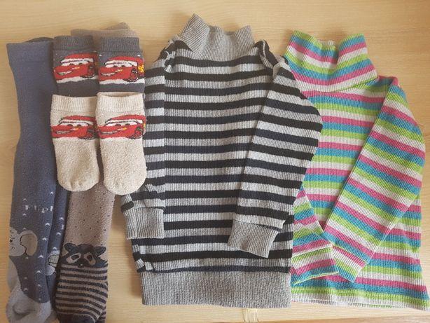 Водолазка, колготки, носки