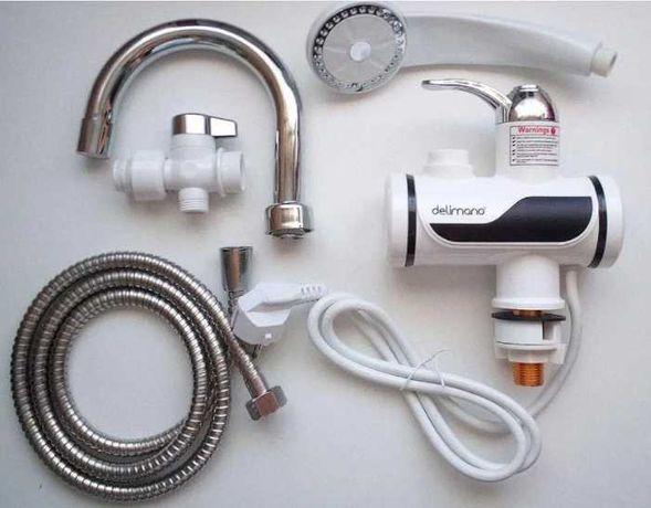 Проточный водонагреватель с душем бойлер
