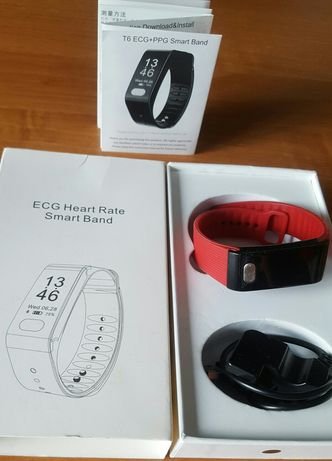ECG Heart Rate Smart Band